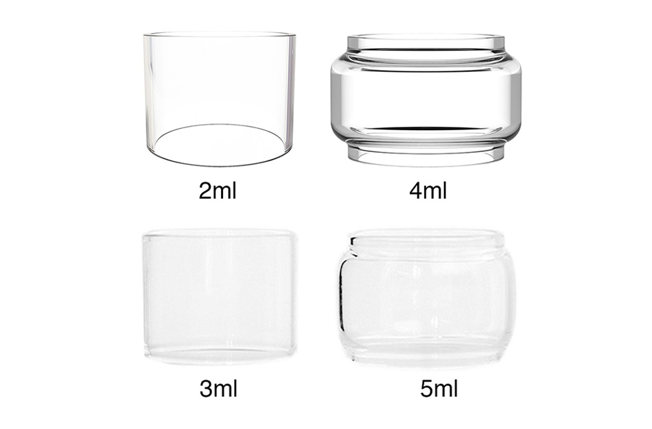 Freemax Twister Replacement Glass Tube 3ml/5ml/2ml/4ml