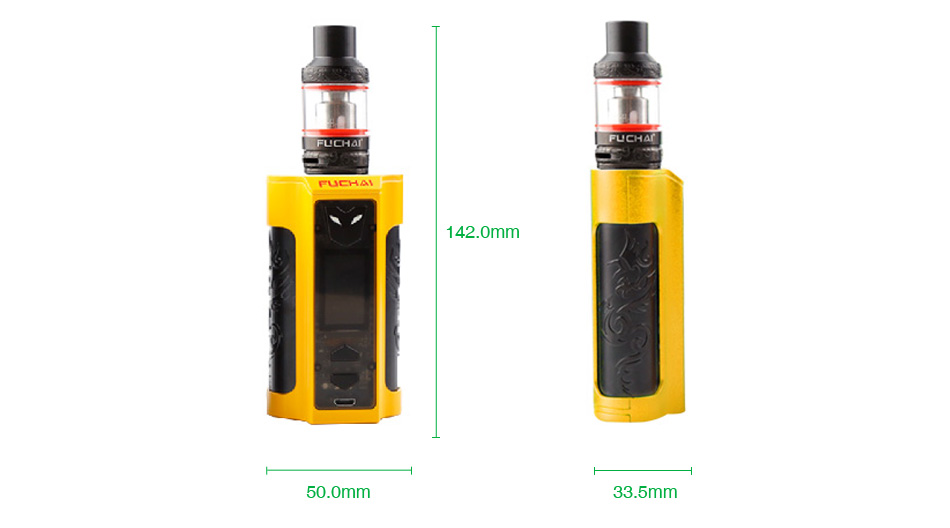 Fuchai MT-V 220W TC Kit with ST3 Tank