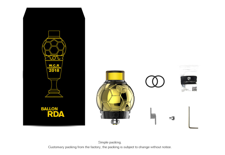 Fumytech Ballon RDA 3.5ml