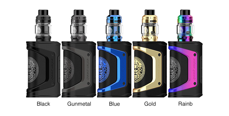 Geekvape Aegis Legend 200W TC Kit with Zeus Tank Limited Edition Pre-order