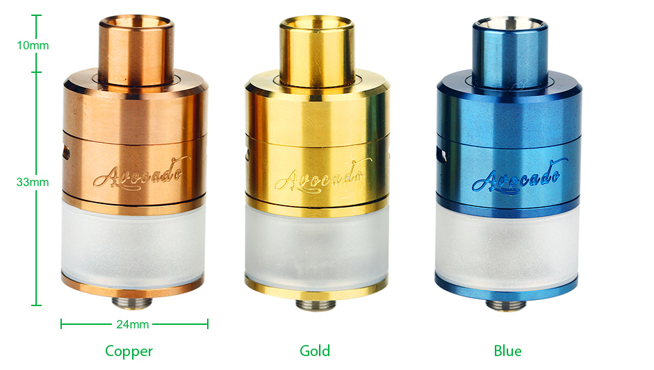 GeekVape Avocado 24 RDTA New Color Edition