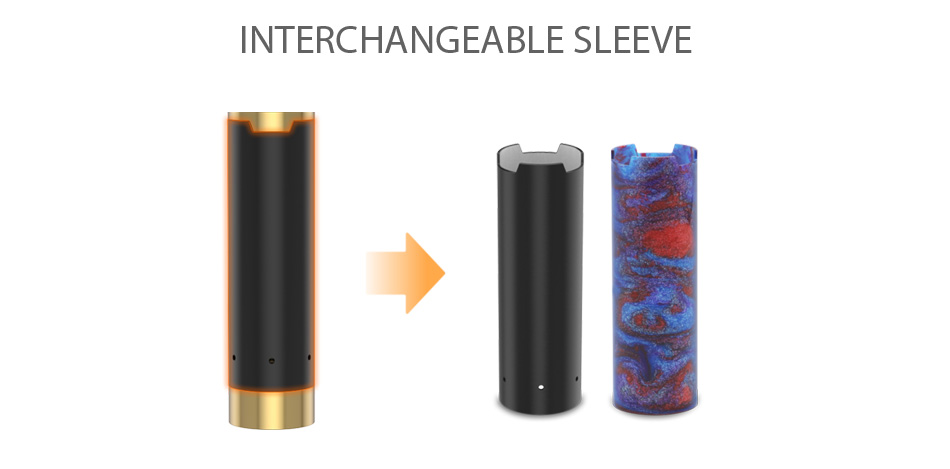 GeekVape Black Ring Plus MECH MOD W/O Battery - Brass