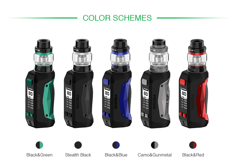 Geekvape Aegis mini 80W TC kit with Cerberus Tank