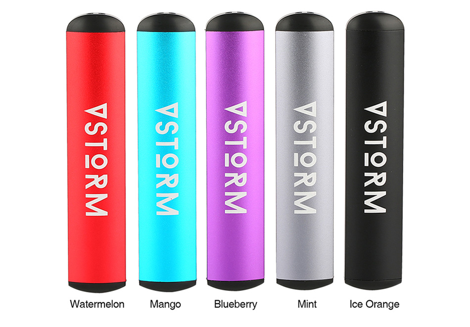 Vapor Storm D2 Disposable Pod Kit 280mAh 5pcs