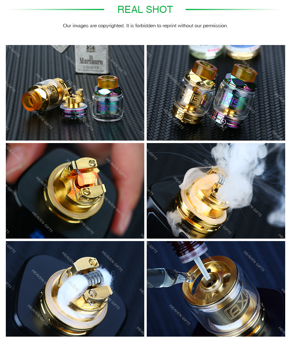 Gemz Axis RTA 2.5ml