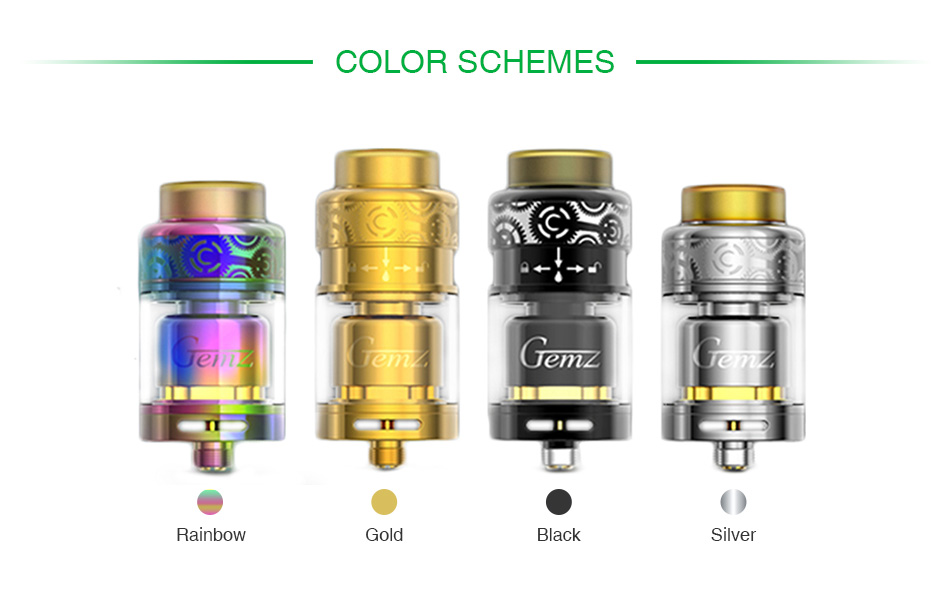 Gemz Prime Mover RTA 3ml
