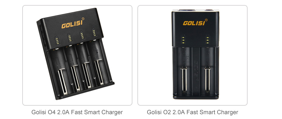 Golisi G25 IMR 18650 2500mAh High-drain Battery - 40A