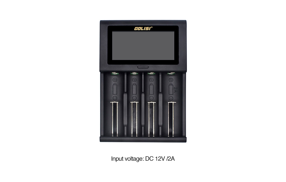 Golisi I4 2A Smart USB Charger with LCD Screen