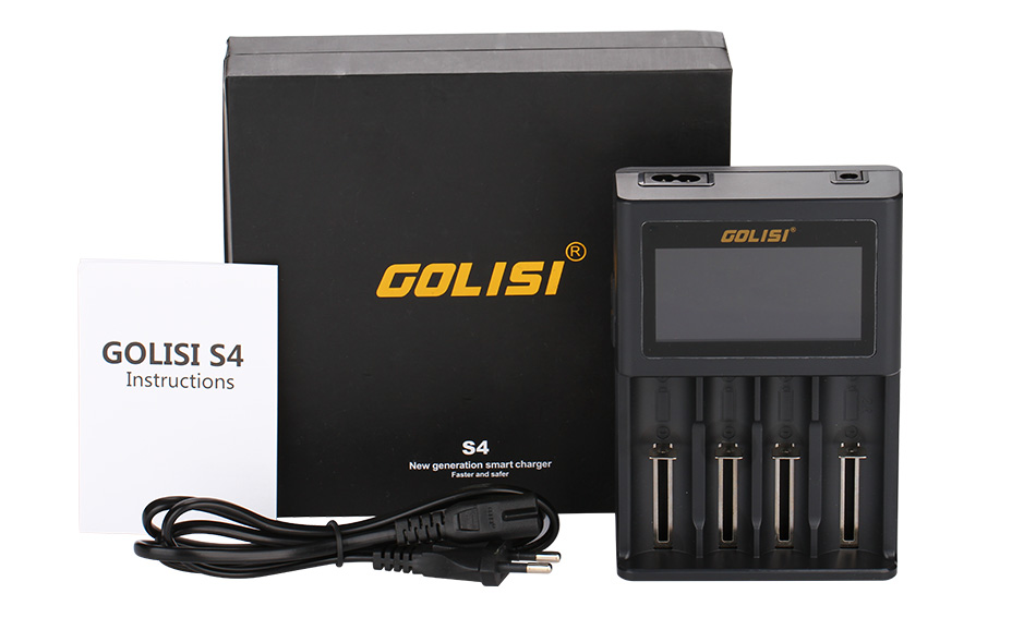 Golisi S4 2.0A Smart Charger with LCD Screen