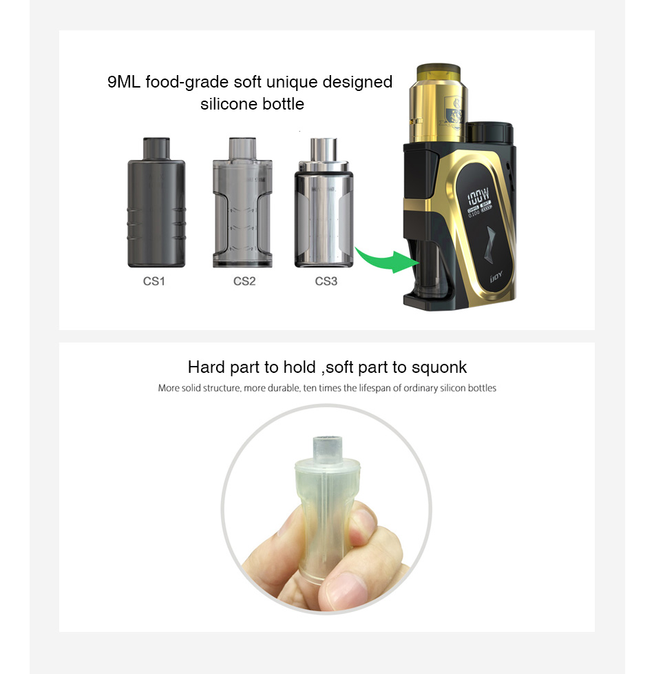 IJOY CAPO Squonk Bottle