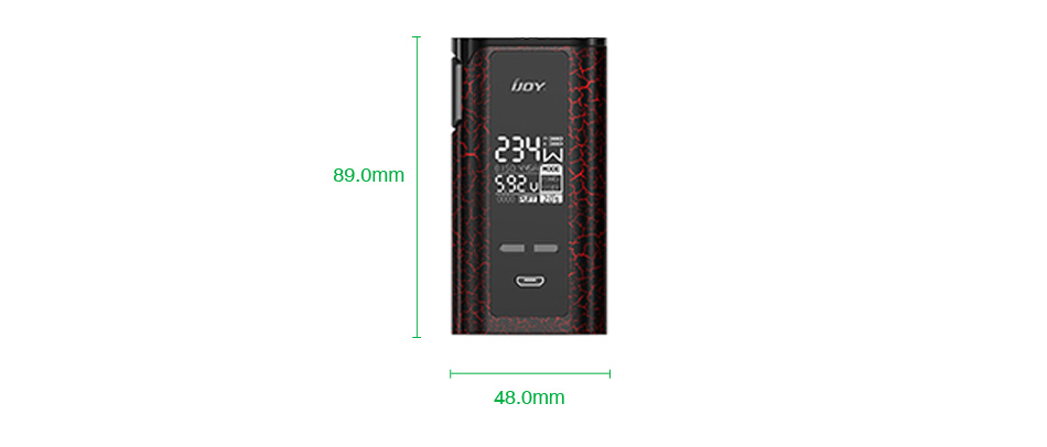 IJOY Captain PD270 234W New TC BOX MOD