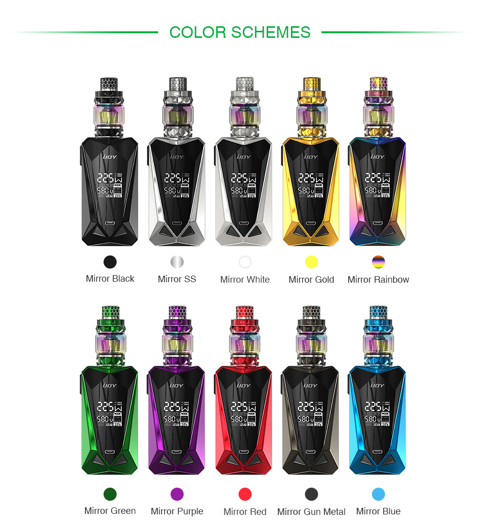IJOY Diamond Mini 225W TC Kit with Diamond Baby Tank