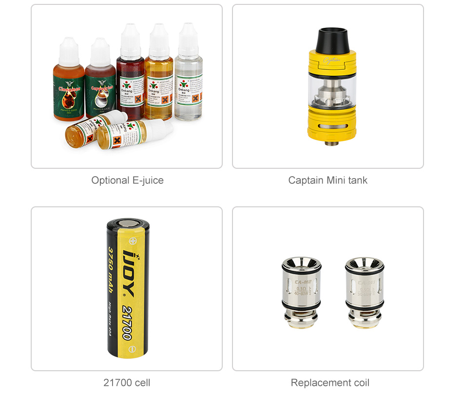 IJOY ELITE PS2170 100W TC Kit 3750mAh