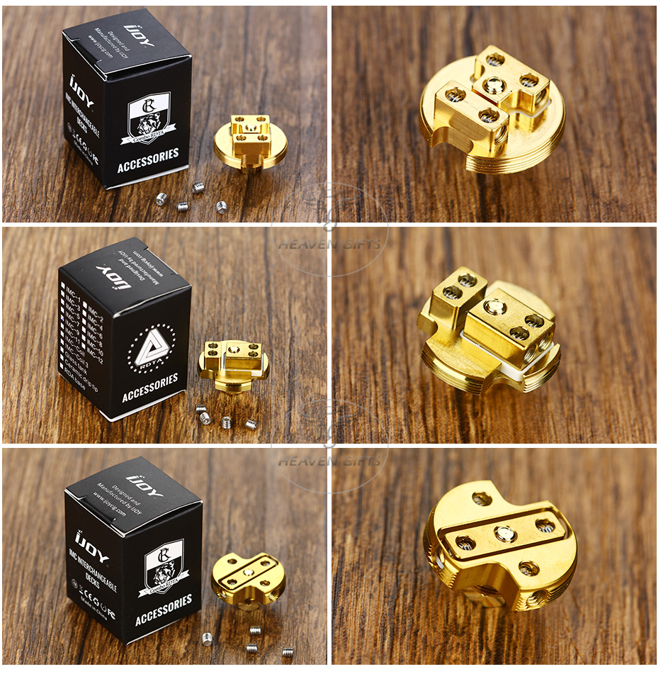 IJOY Gold-plated Building Deck for COMBO/Limitless RDTA - IMC-7/8/9