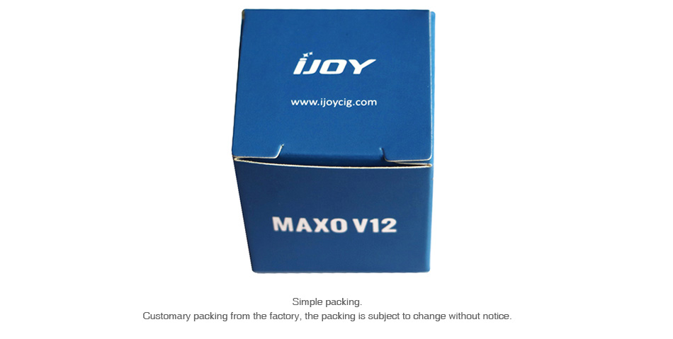 IJOY Replacement Glass Tube for MAXO V12 5.6ml