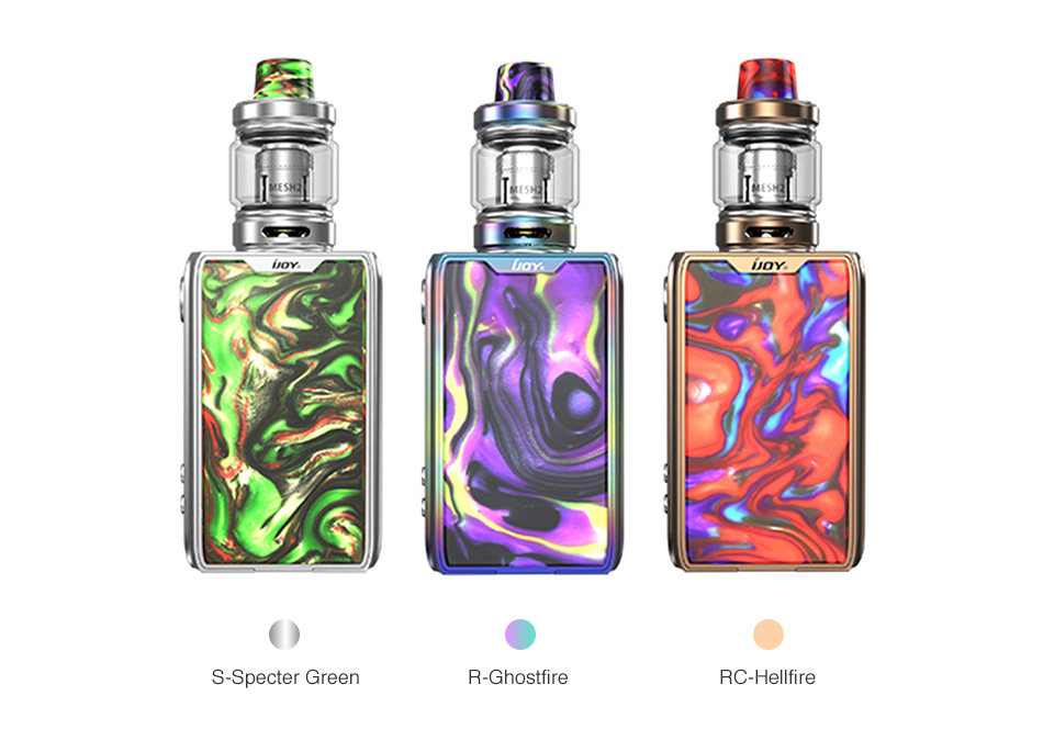 IJOY Shogun JR Resin 126W TC Kit 4500mAh
