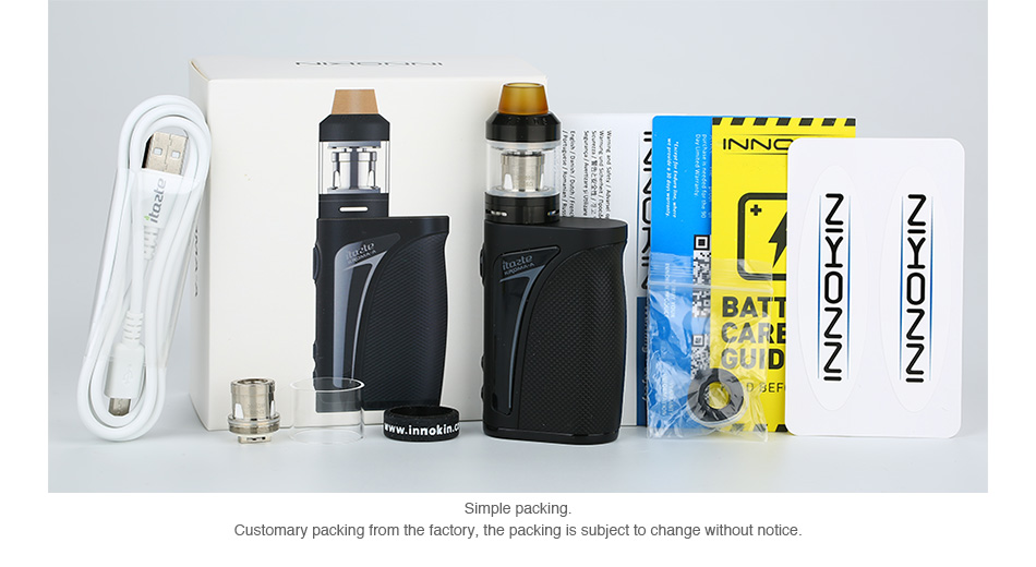 Innokin Kroma-A 75W TC Kit with Crios Tank 2000mAh