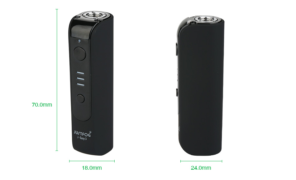 JUSTFOG J-Easy 3 Battery VV MOD 900mAh