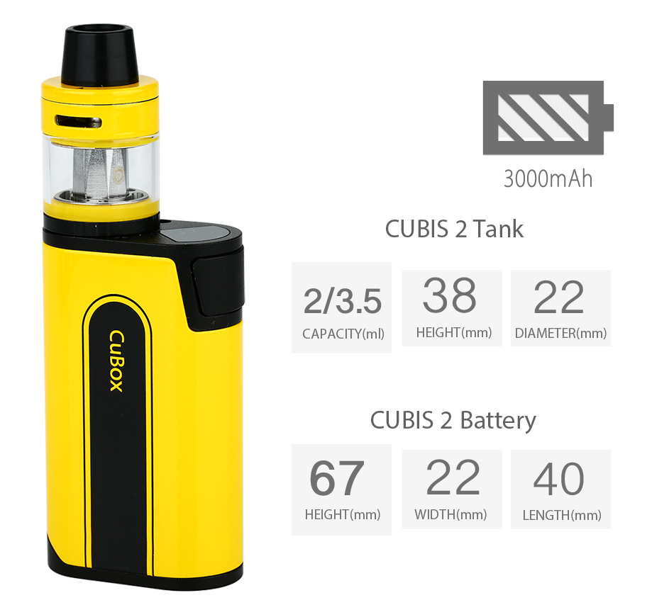 Joyetech CuBox with CUBIS 2 Kit