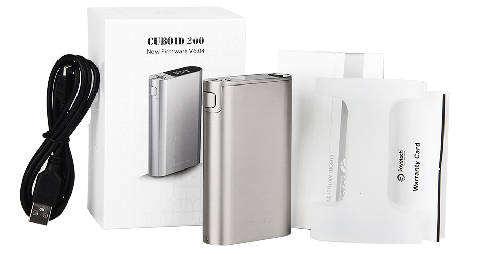 Joyetech Cuboid 200 TC Box MOD W/O Battery