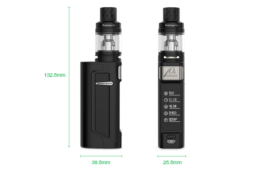 Joyetech ESPION Solo 21700 80W with ProCore Air TC Kit 4000mAh