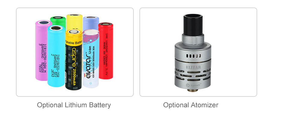 Joyetech Elitar Pipe Battery Body Kit W/O Battery