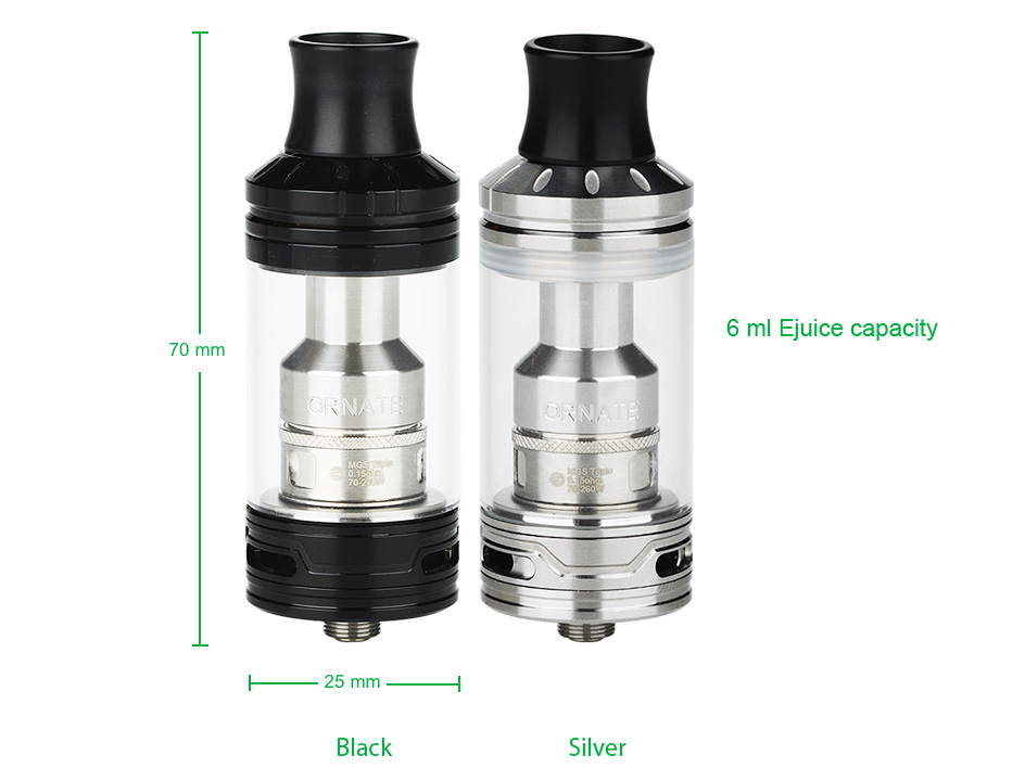 Joyetech ORNATE Atomizer - 6ml