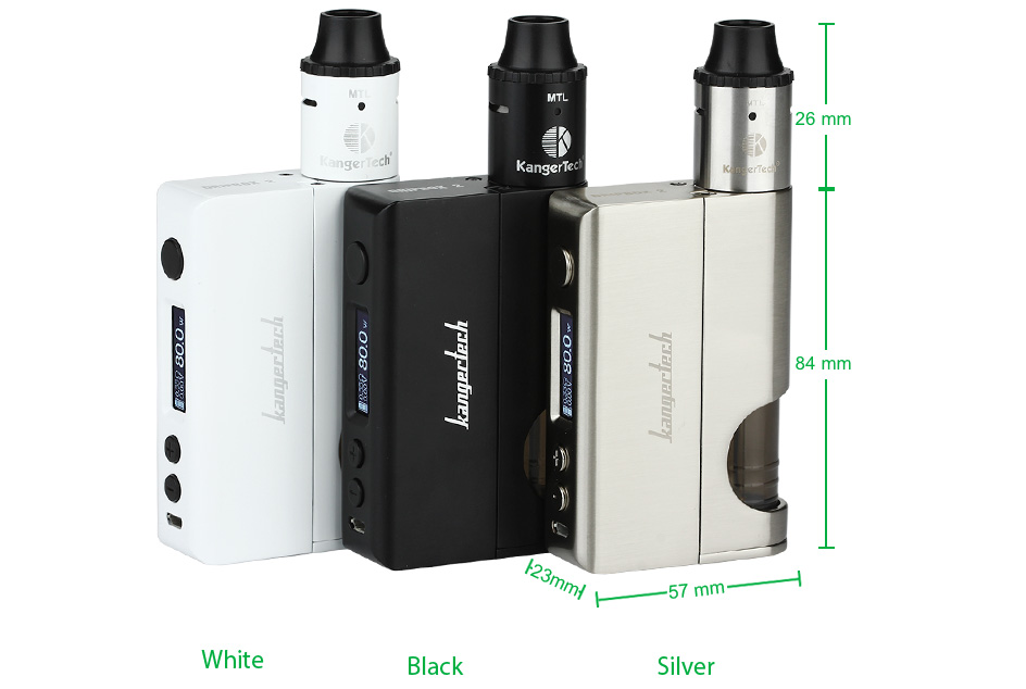 Kangertech Dripbox 2 TC Starter Kit W/O Battery