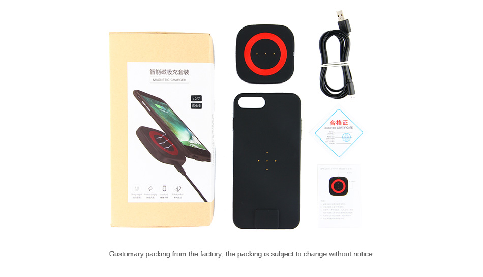 Magnetic Wireless Charger Kit for iPhone 2500mAh