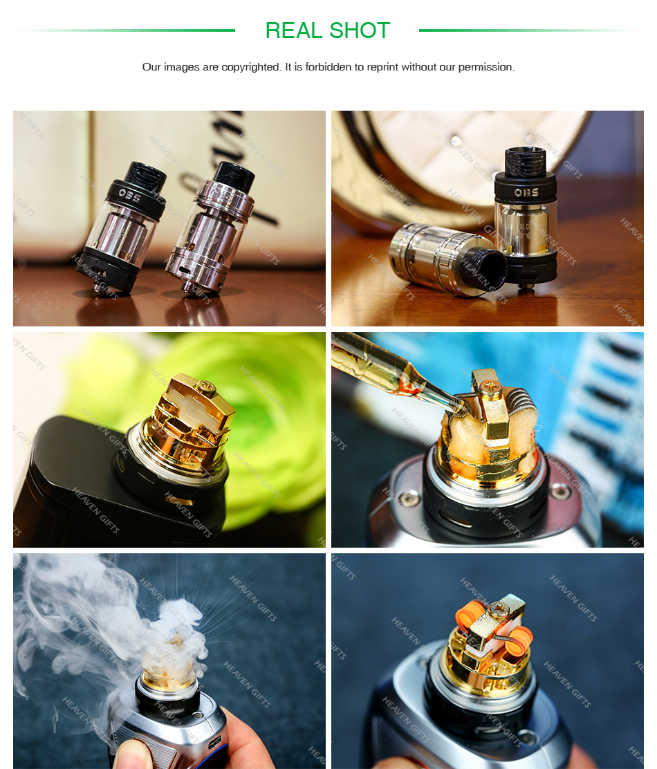 OBS Crius 2 RTA Dual Coil Version 4ml