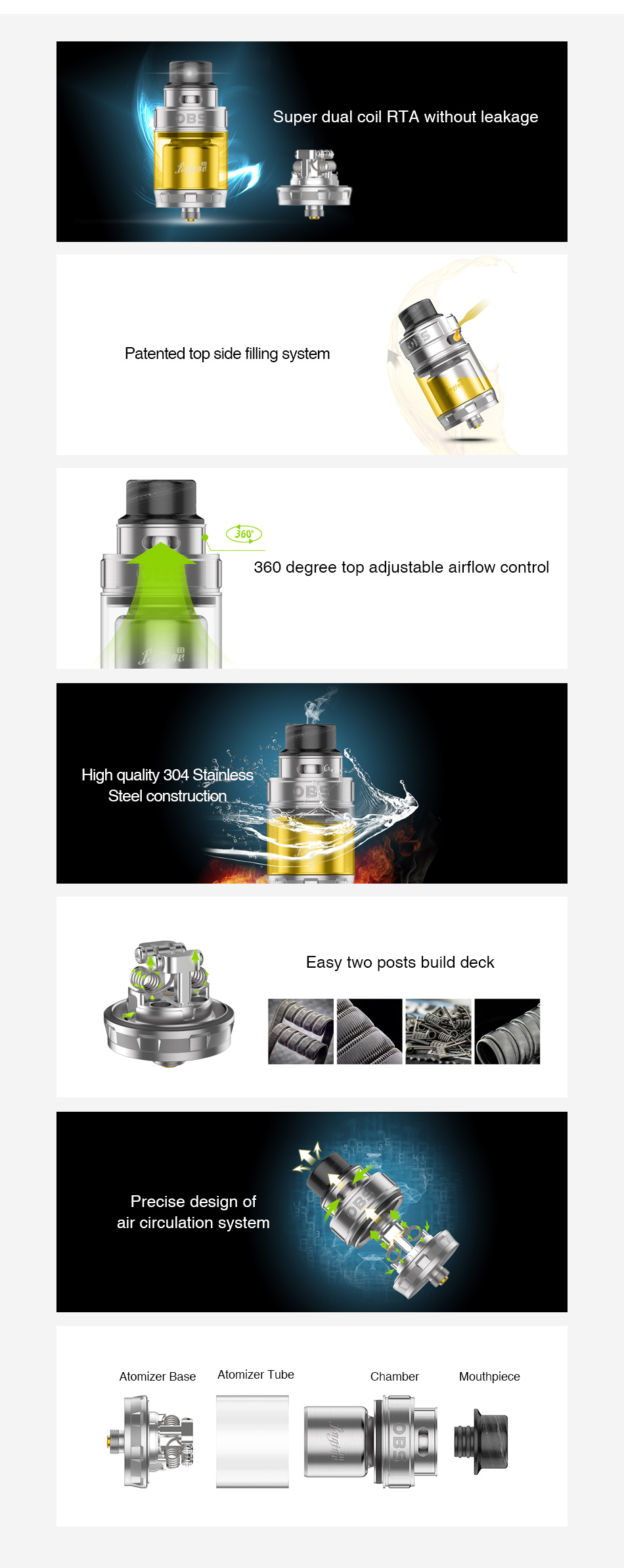 OBS Engine 2 RTA 5ml