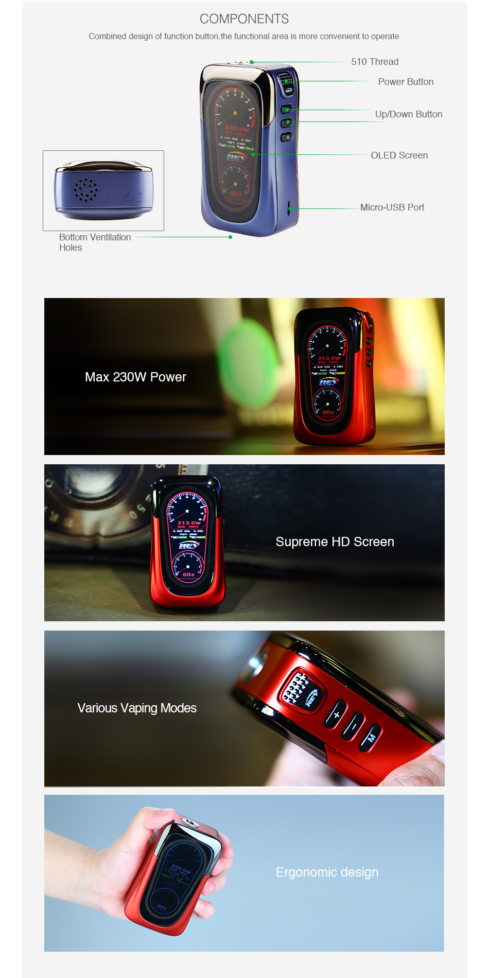 Smoant RABOX Mini MOD 3300mAh