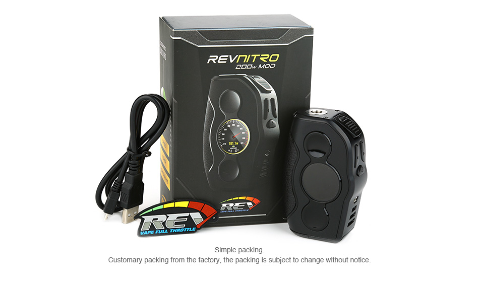 REV Nitro 200W TC Box MOD