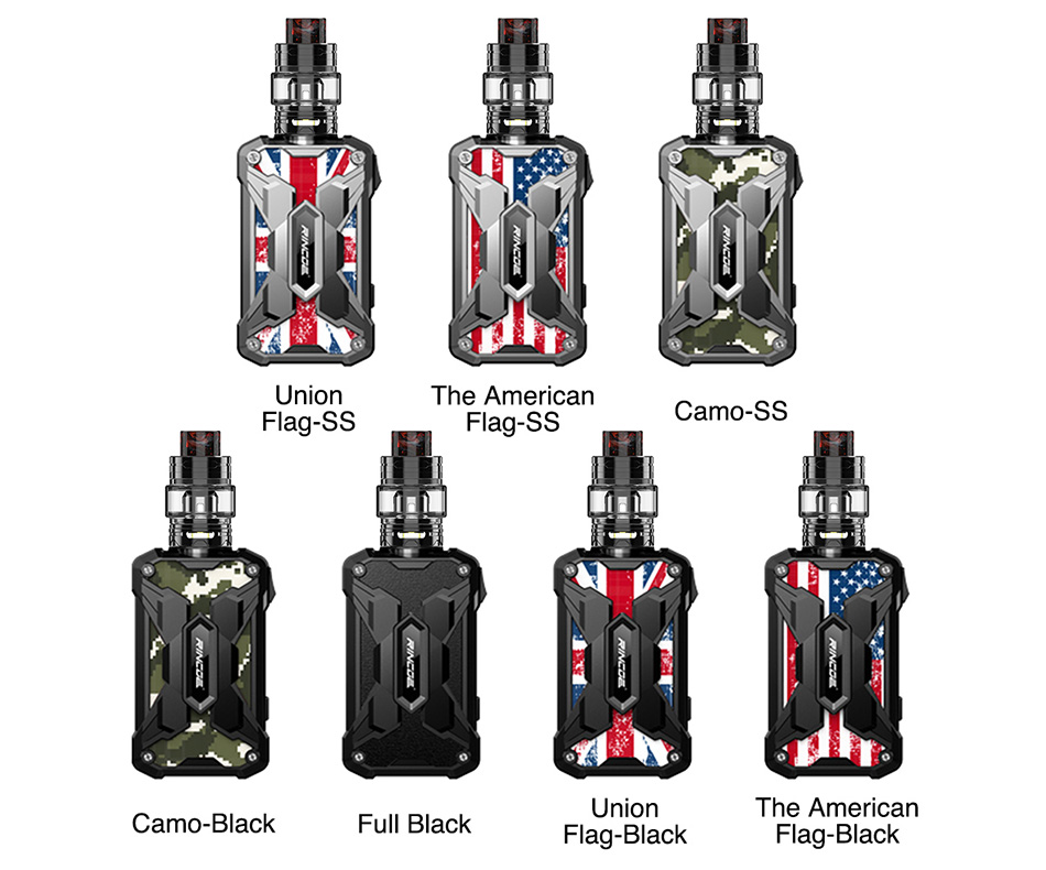 Rincoe Mechman 228W TC Kit with Mesh Tank