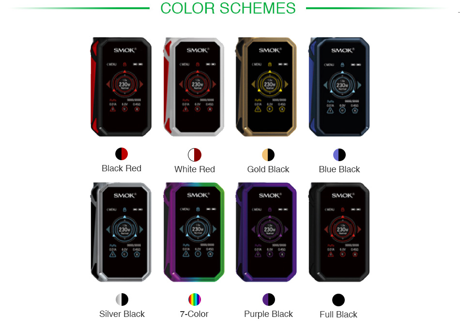 SMOK G-PRIV 2 230W Touch Screen TC Box MOD