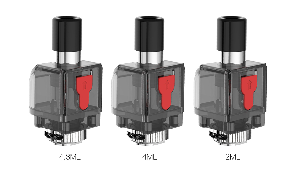 SMOK Fetch Pro Boş Kap 2ml4ml4.3ml 3 adet