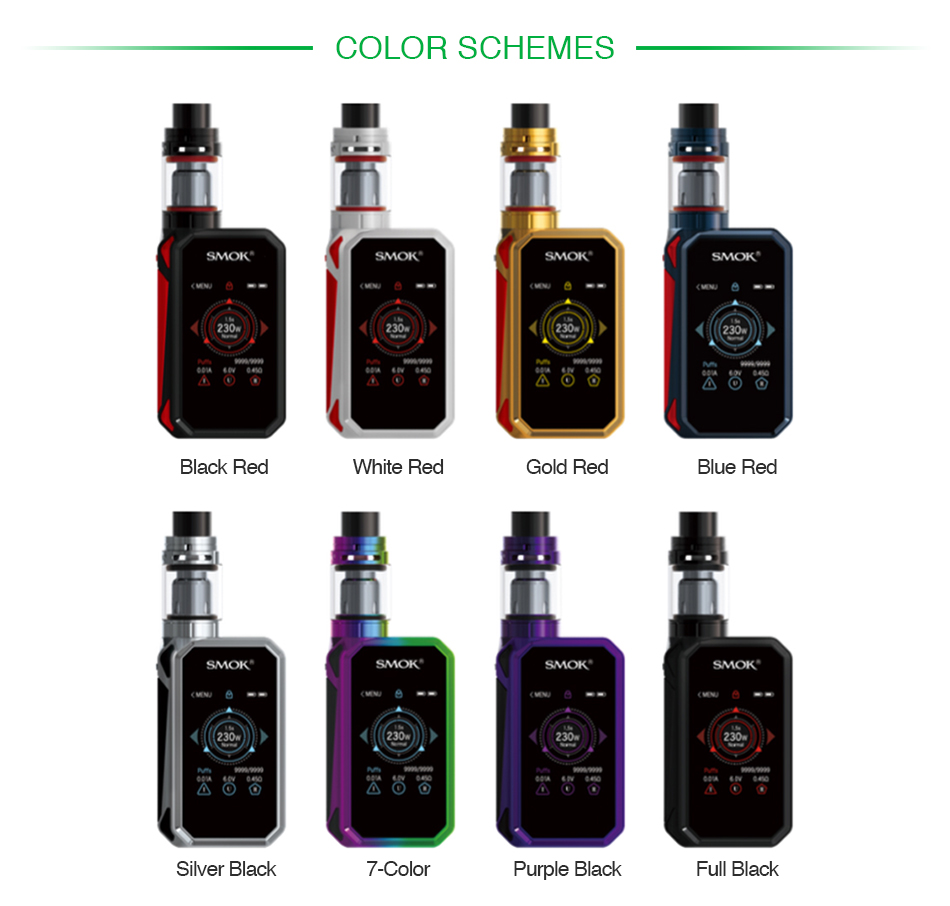 SMOK G-PRIV 2 230W with TFV8 X-Baby Kit