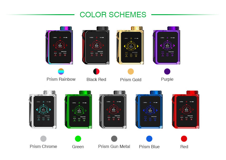 SMOK G-PRIV Baby 85W Touch Screen TC MOD Luxe Edition
