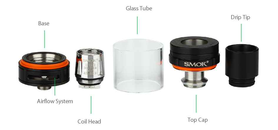 SMOK G320 Marshal With TFV8 Big Baby Starter Kit W/O Battery