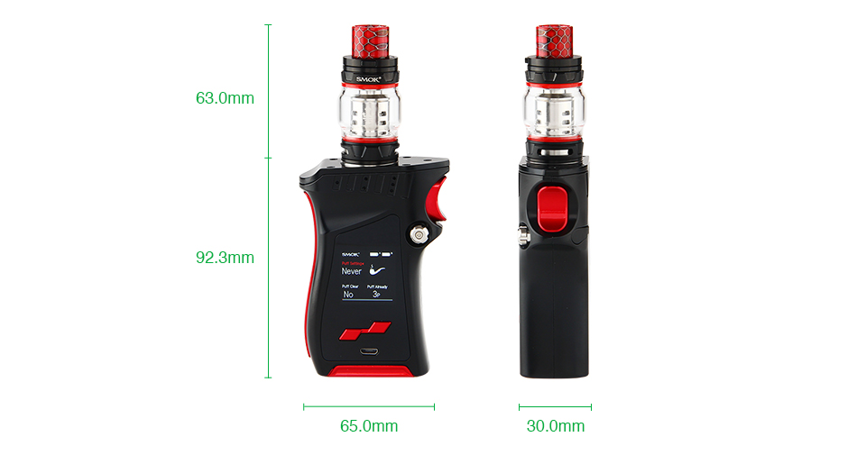 SMOK MAG 225W TC Kit with TFV12 Prince