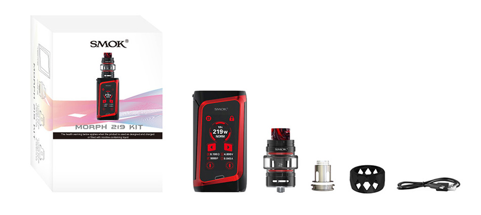 SMOK MORPH 219W TC Kit with TF2019 Tank/TFV Mini V2 Tank