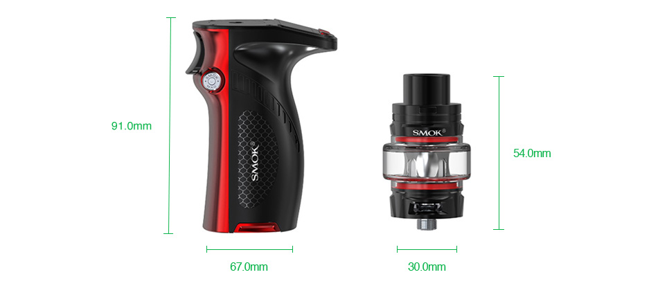 SMOK Mag Grip 100W TC Kit with TFV8 Baby V2