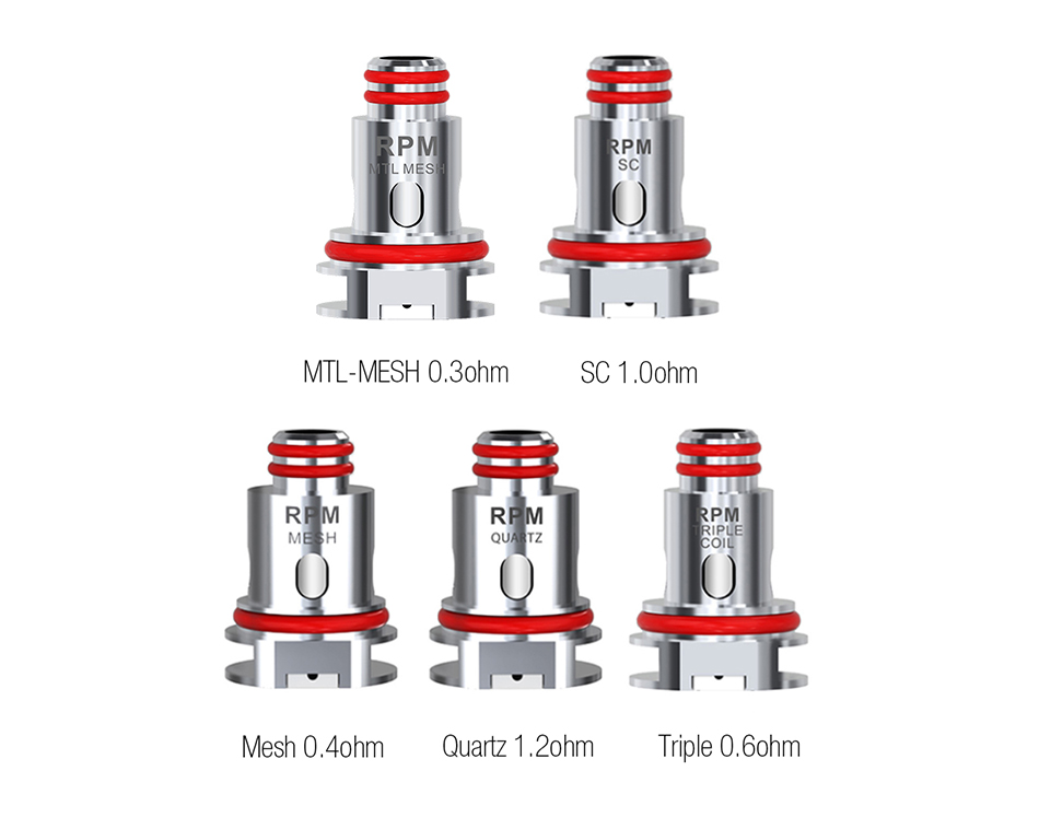 SMOK RPM 40 Replacement Coil 5pcs