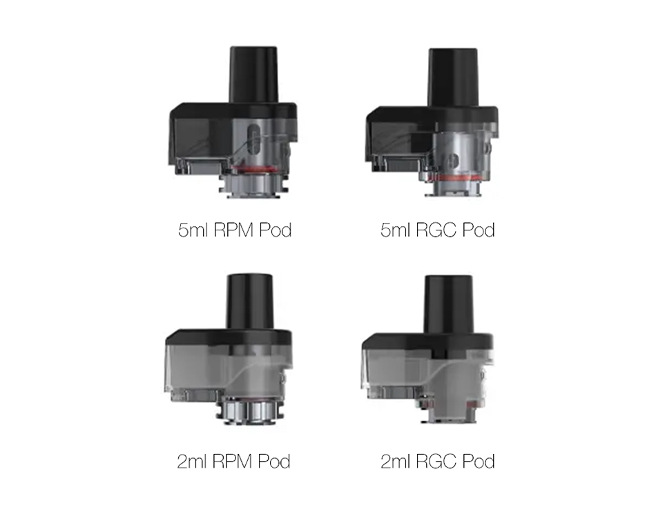 SMOK RPM80 Empty Pod 2ml5ml 3pcs