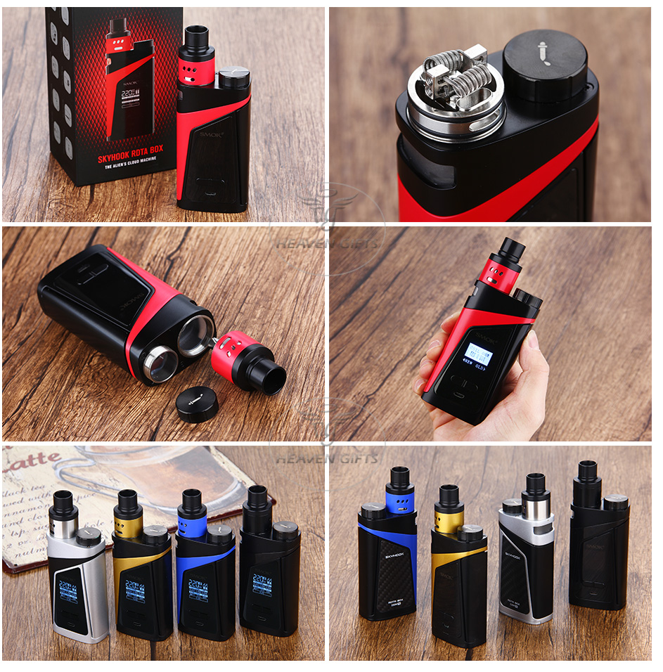 SMOK SKYHOOK RDTA BOX Starter Kit W / O Battery