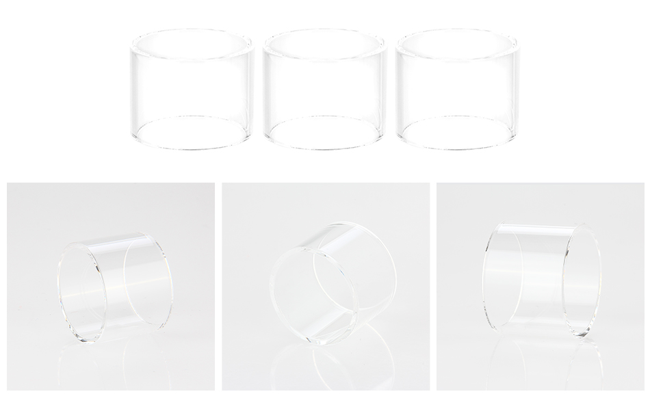 SMOK Spirals Plus Tank Pyrex Glass Tube 4ml 3pcs