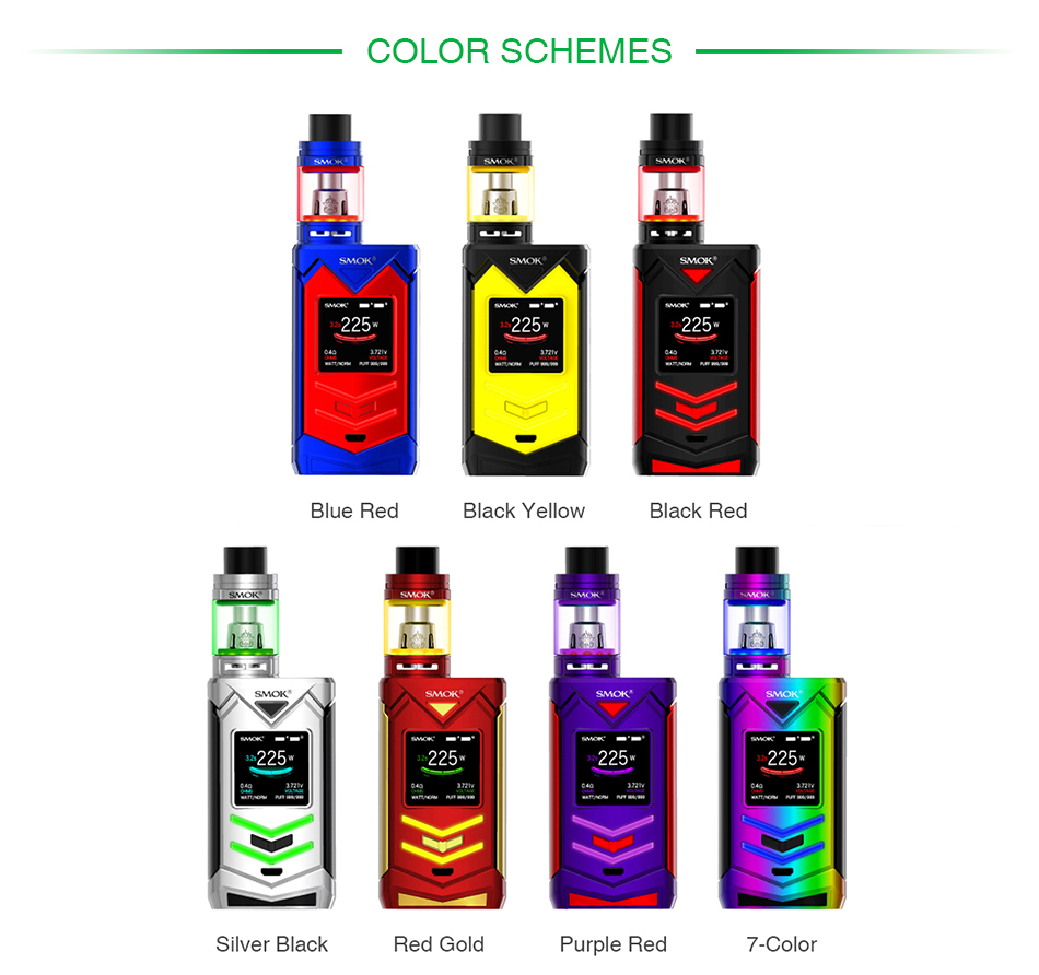 SMOK Veneno 225W TC Kit with TFV8 Big Baby