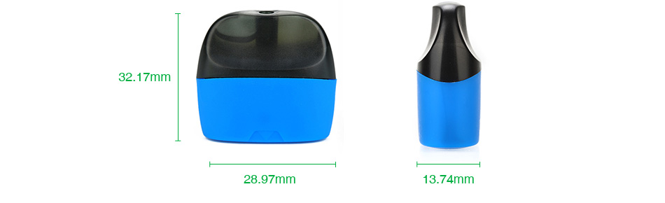 SMPO Nicotine Salt Pod 1.8ml 2pcs