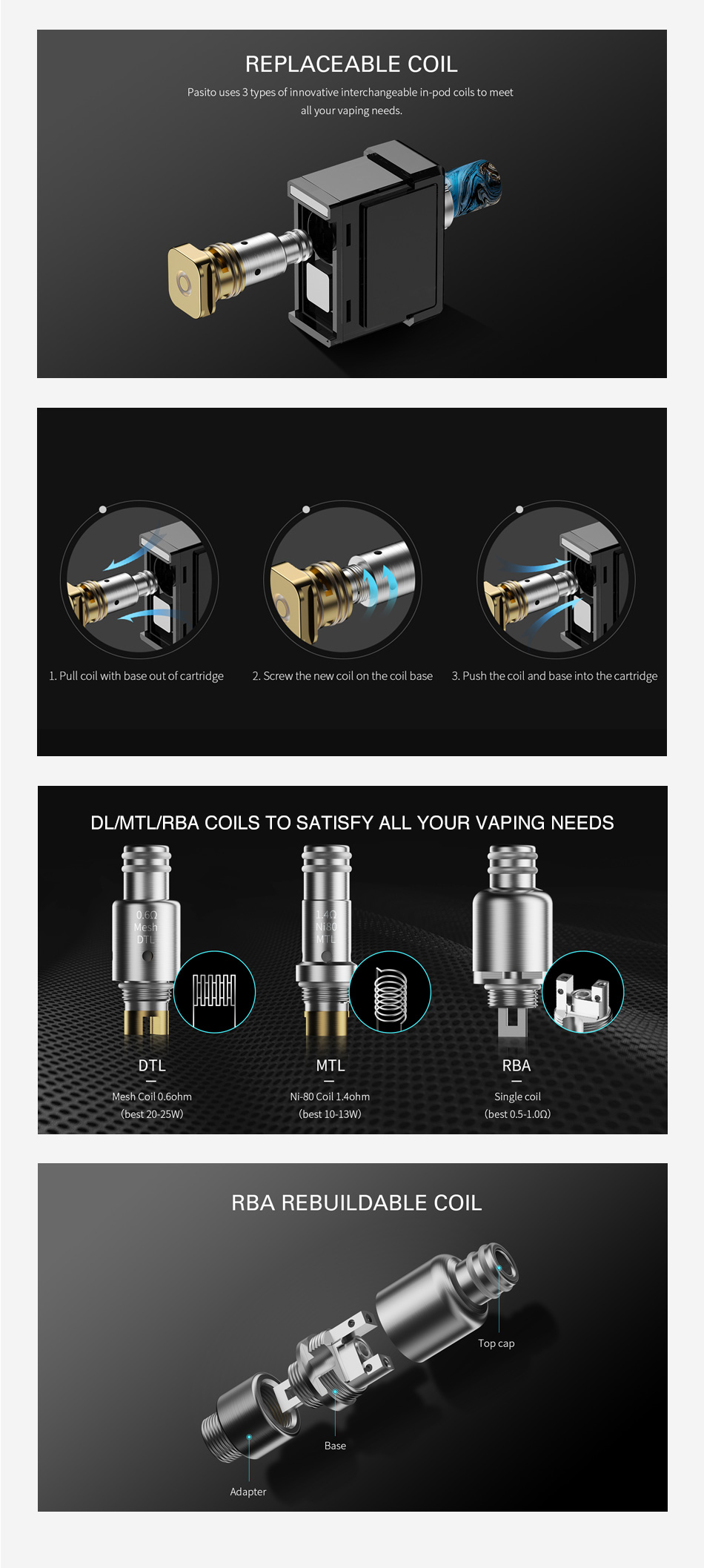 Smoant Pasito Replacement Coil
