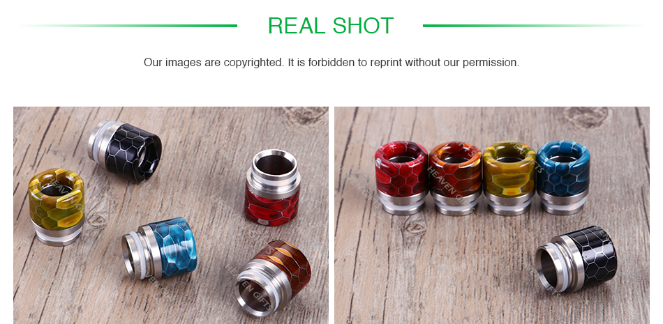 Snakeskin Resin Drip Tip for TFV8/ 810 0299